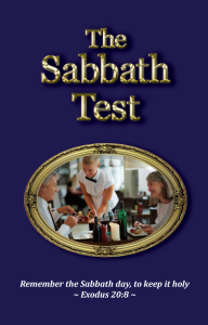 The Sabbath Test